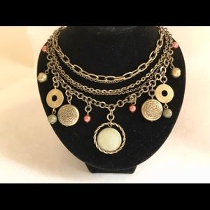 The Buckle - layered necklace
